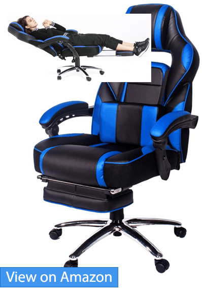 topsky high back racing style pu leather computer gaming chair review