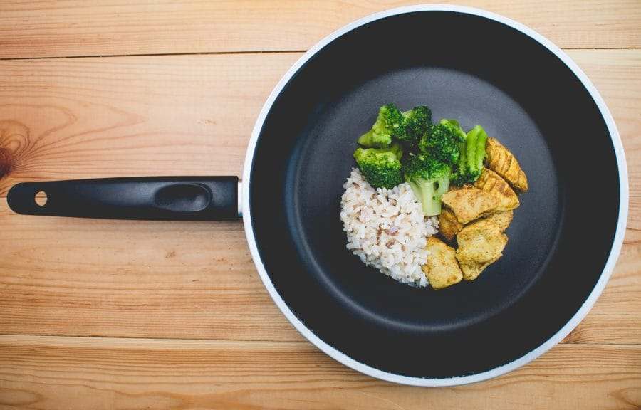 A healthy, Balanced Diet- Chicken, Rice, and Vetetables