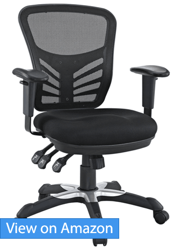 Modway Budget Office Chair Revuew  sc 1 st  Ergonomic Trends : office stool ergonomic - islam-shia.org
